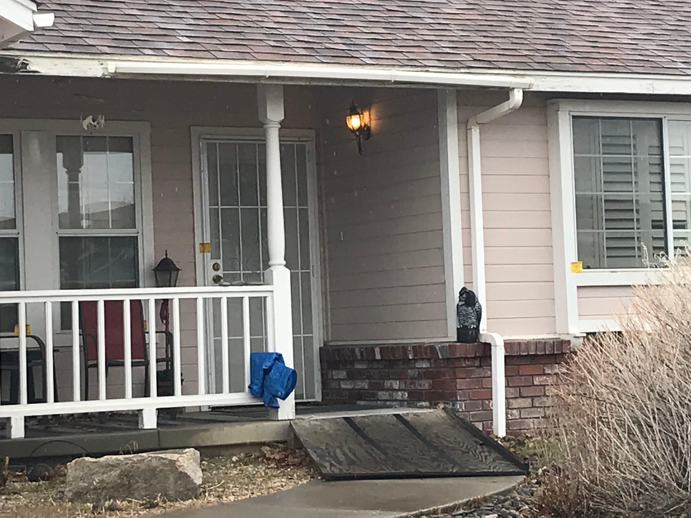1439 James Road, Gardnerville, the home where Connie Koontz was found murdered on Jan. 10.