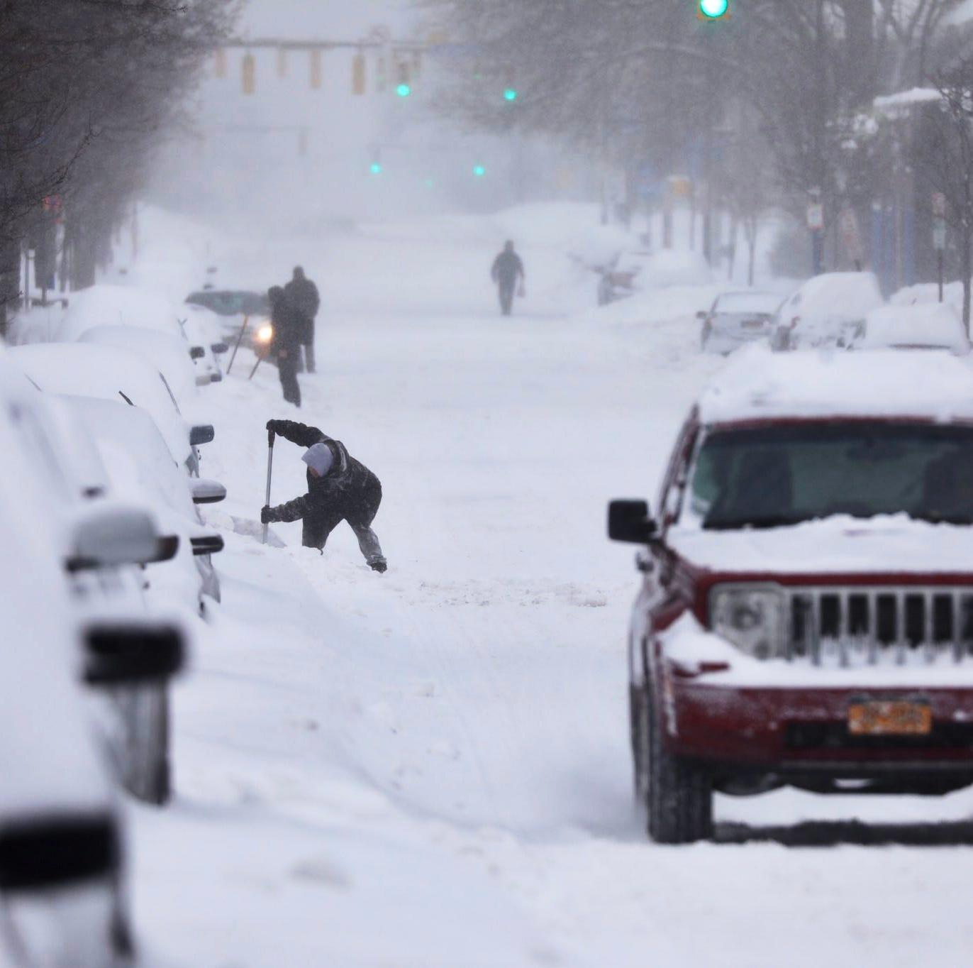 Brutal cold follows hard on the heels of major snowfall across Rochester region