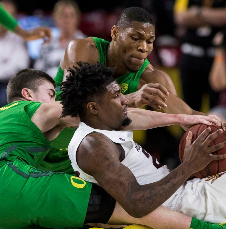 Oregon Ducks basketball falls at Arizona State