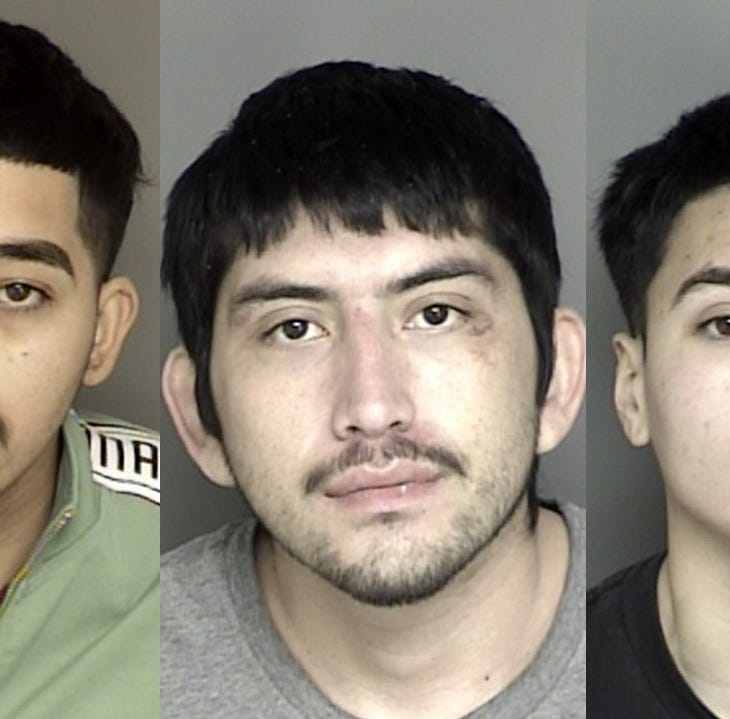 Salinas Police: Four robberies Friday afternoon result in three arrests later that day