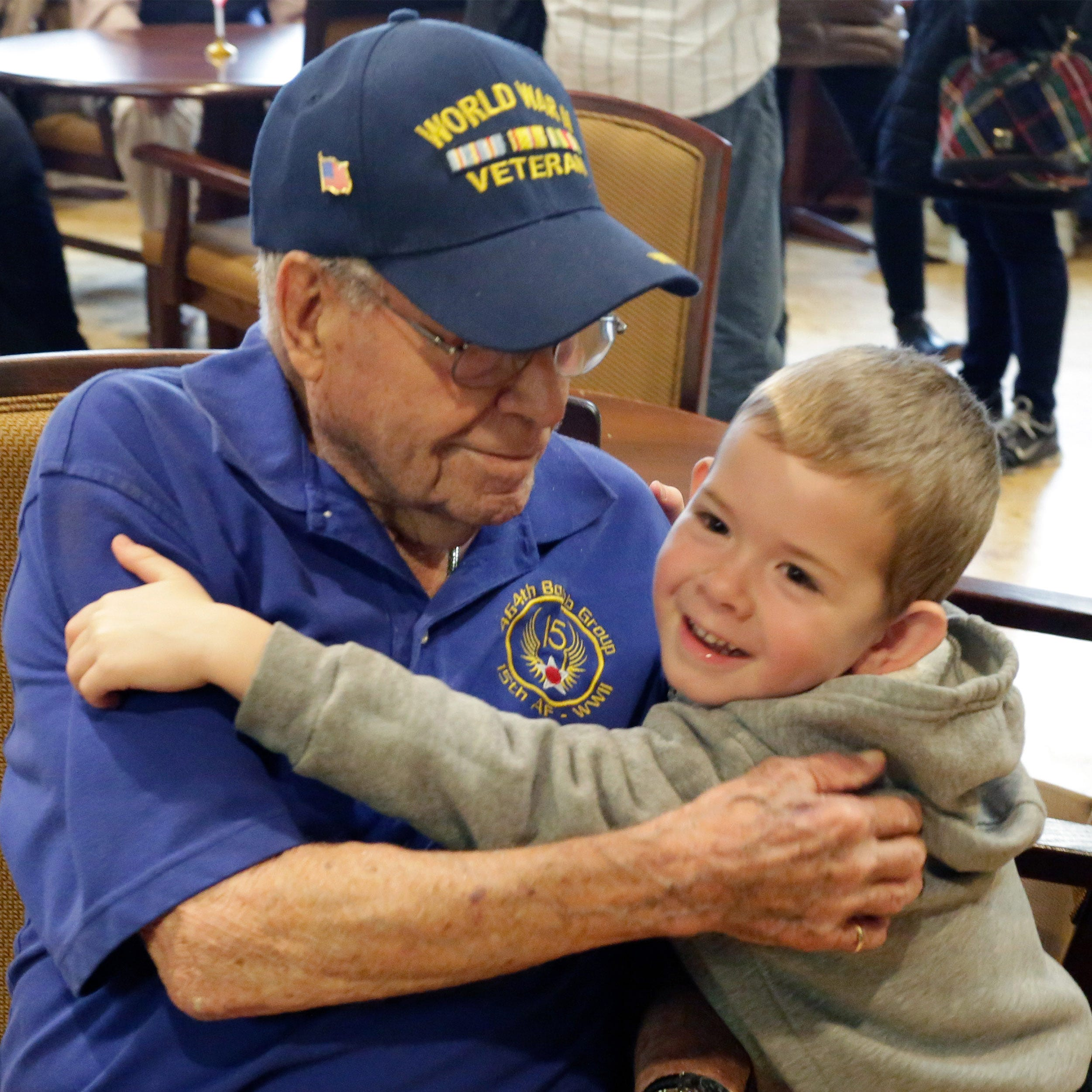World War II veteran celebrates 100th birthday, shares his secret to long life