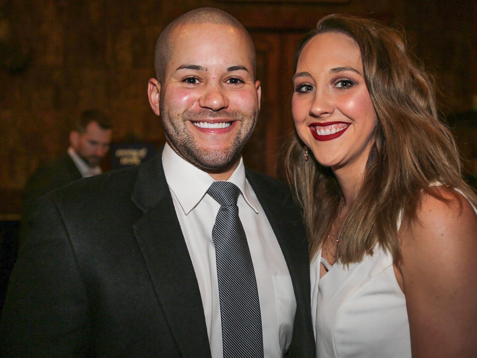 Corey Duncan and Ashton May