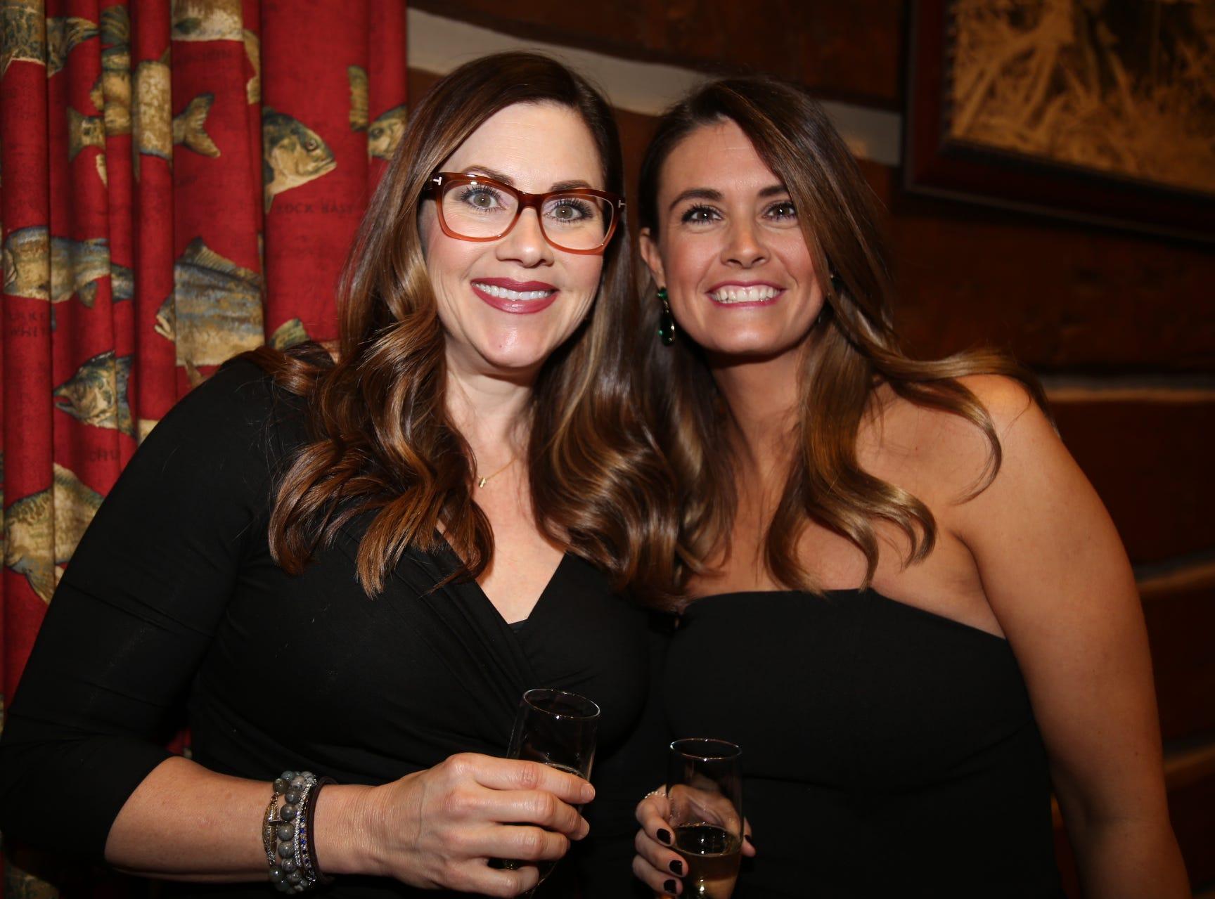 Jennifer Freeman and Emily Alloway