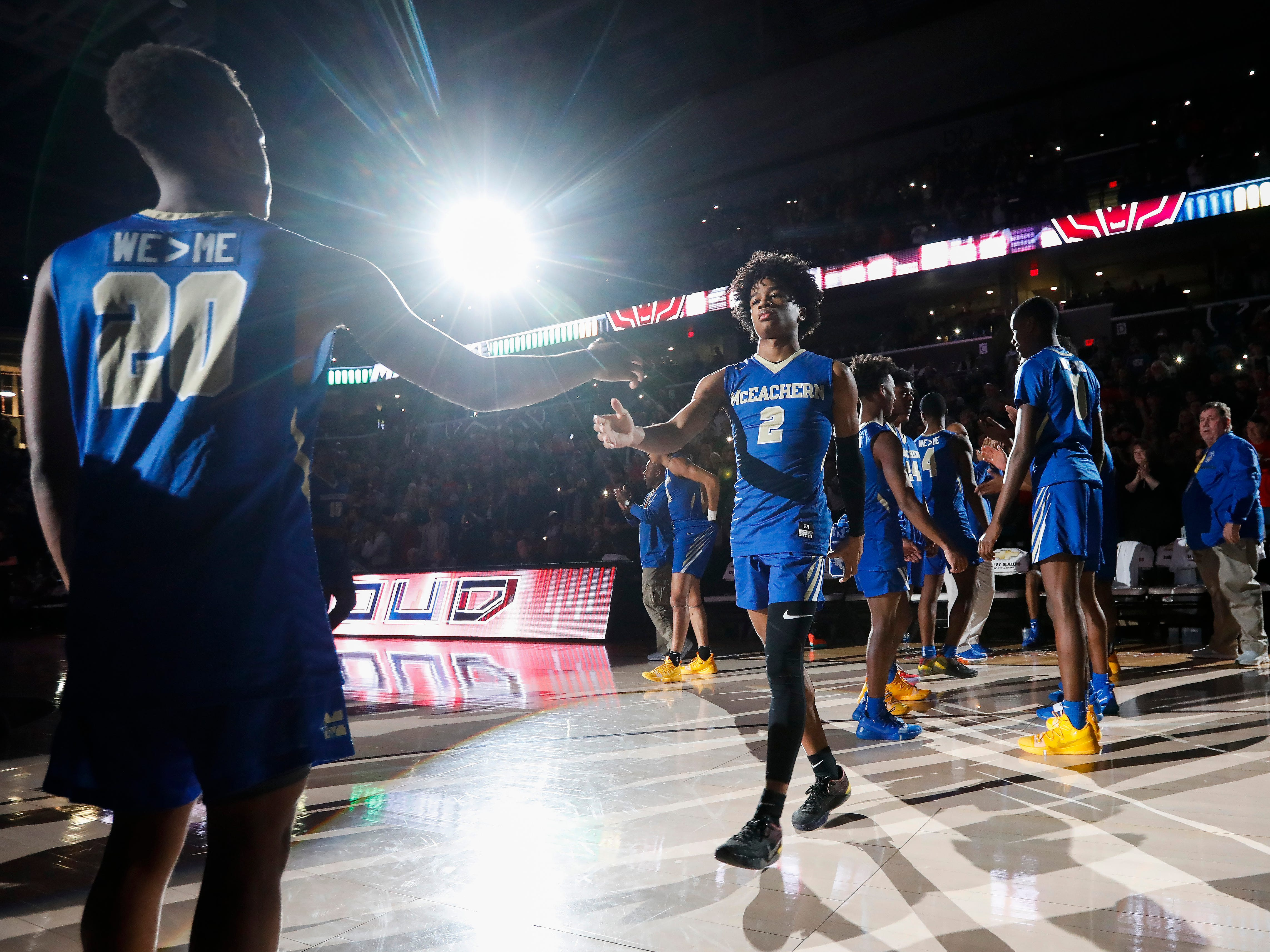 Scenes from the championship game between McEachern and Sunrise Christian Academy at the Bass Pro Shops Tournament of Champions at JQH Arena on Saturday, Jan. 19, 2019.