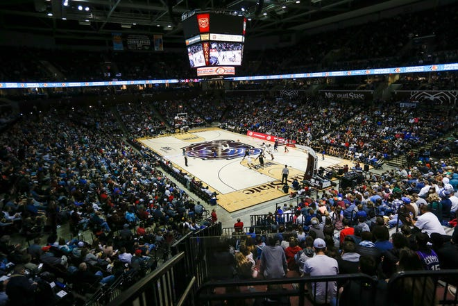 JQH Arena was packed for the Bass Pro Shops Tournament of Champions.
