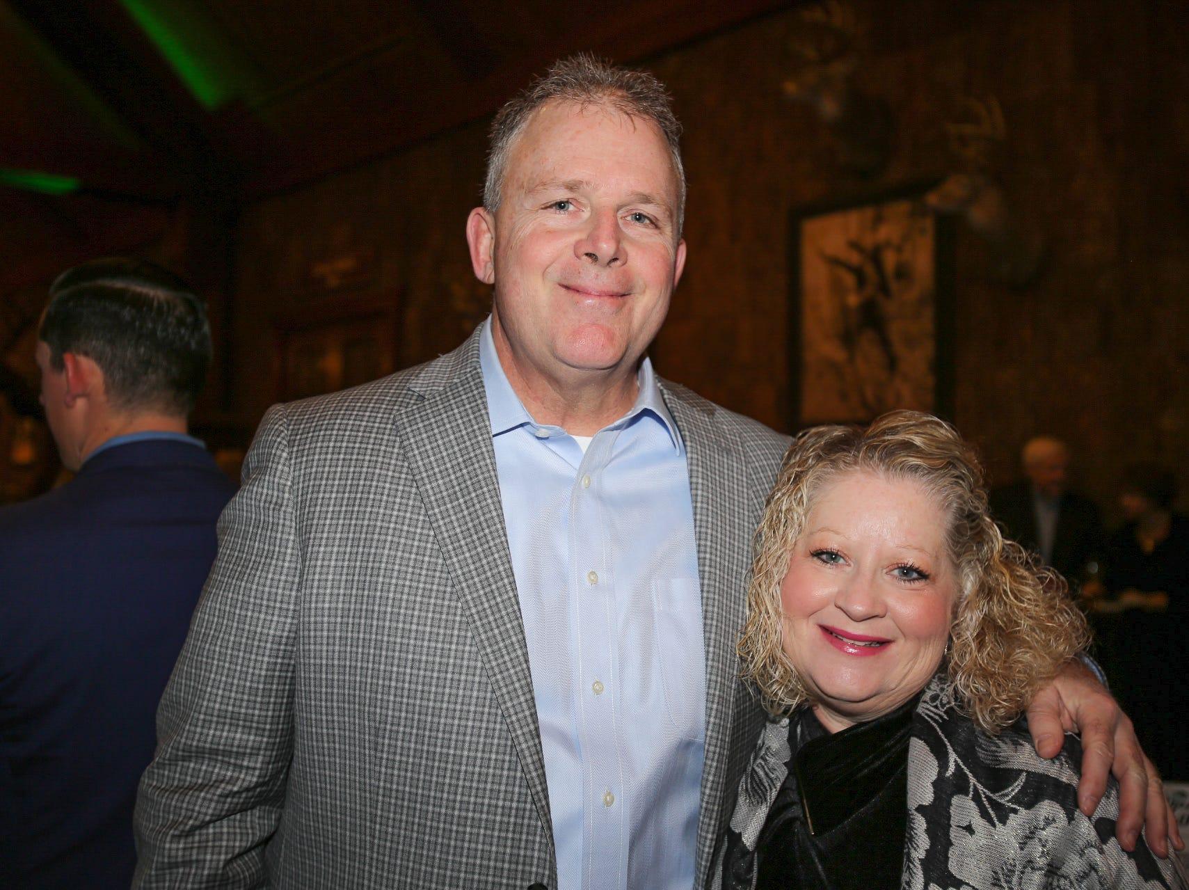 Jim and Lisa Hallam
