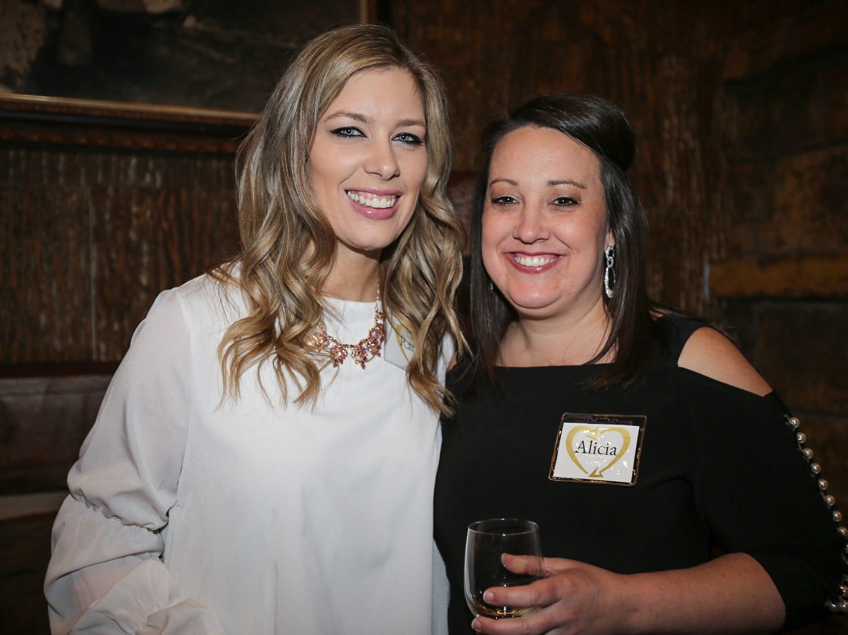 Rachel and Alicia