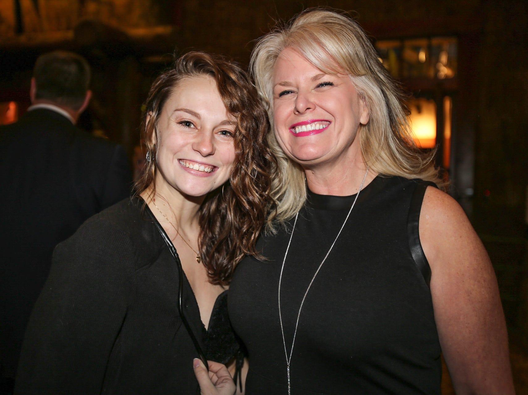 Bailie Robinson and Kirsten Adams