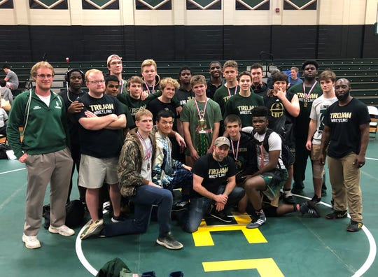 Lincoln's wrestling team won its own Trojan Invitational IBT on Saturday, beating out Bradenton Manatee.
