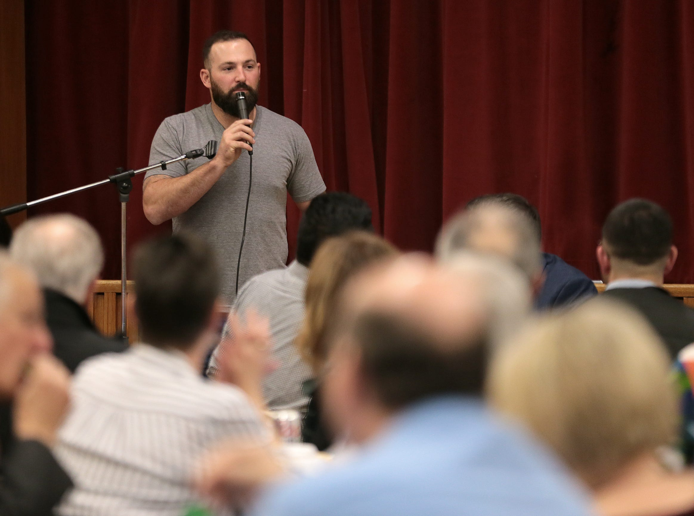 Cody Decker is visiting El Paso to show his film 'Heading Home: The Tale of Team Israel' and to host a pair of hitting clinics at Southwest University Park. Saturday, Decker introduced the documentary at Temple Mt. Sinai to the delight of El Paso's Jewish community and several Cody Decker fans.