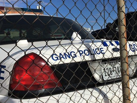 El Paso Police Gang Unit.