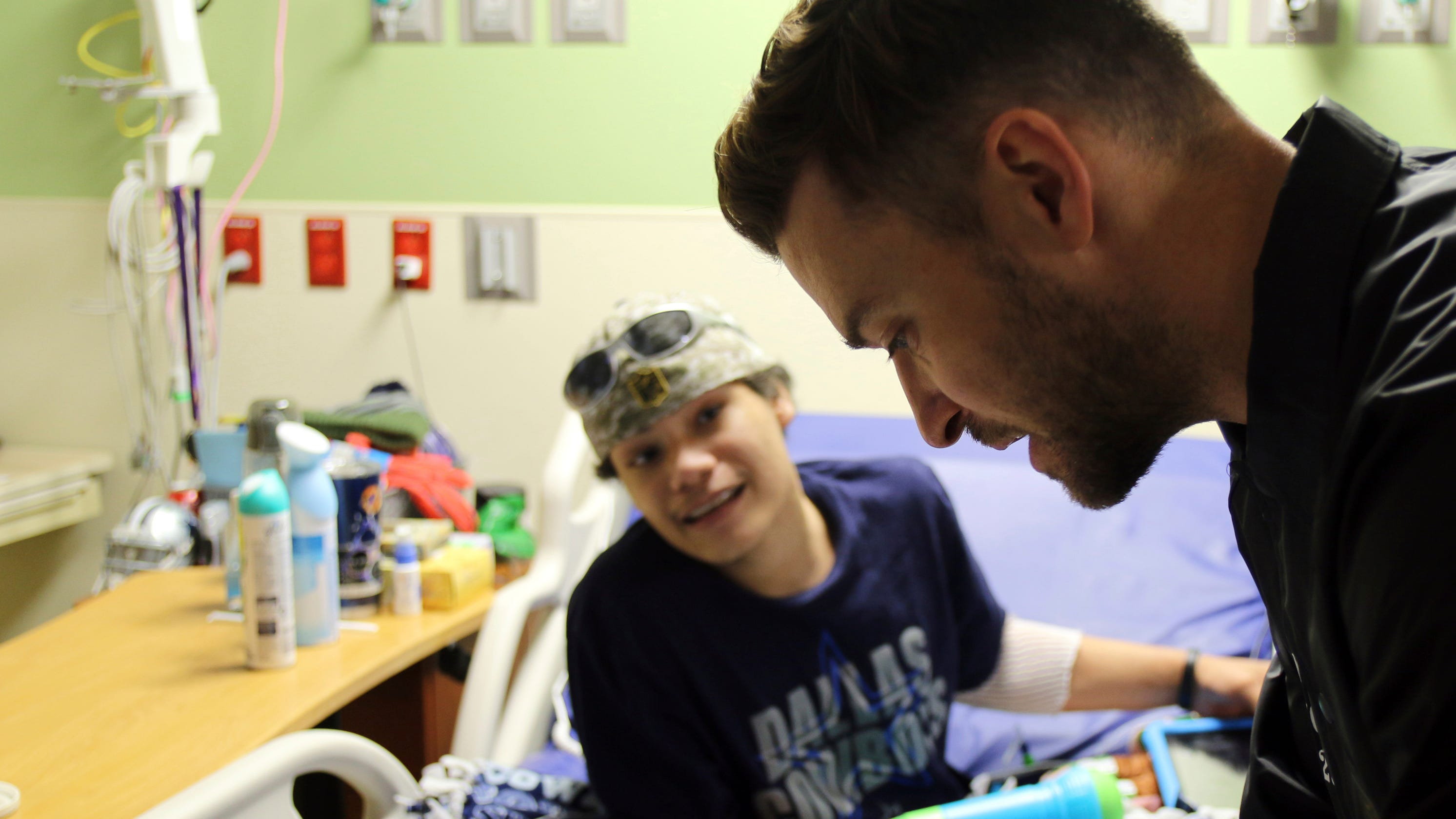 Justin Timberlake Sees Sick Kids After Their Viral Can T