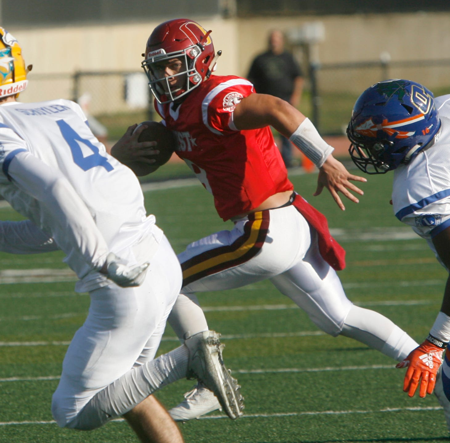 The West beats the East in the 46th annual Ventura County All-Star Football Game