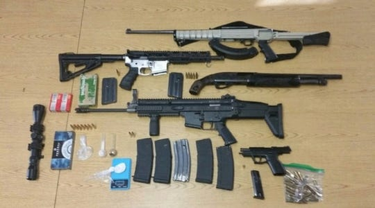 During a three-day detail, Tulare County detectives seized fire firearms and arrested 28 suspects.