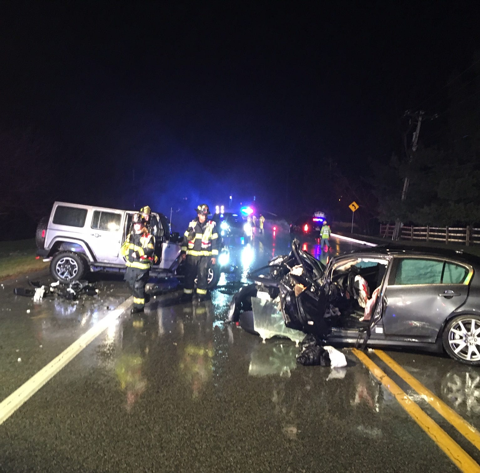 One dead after crash on Polly Drummond Hill Road in Pike Creek