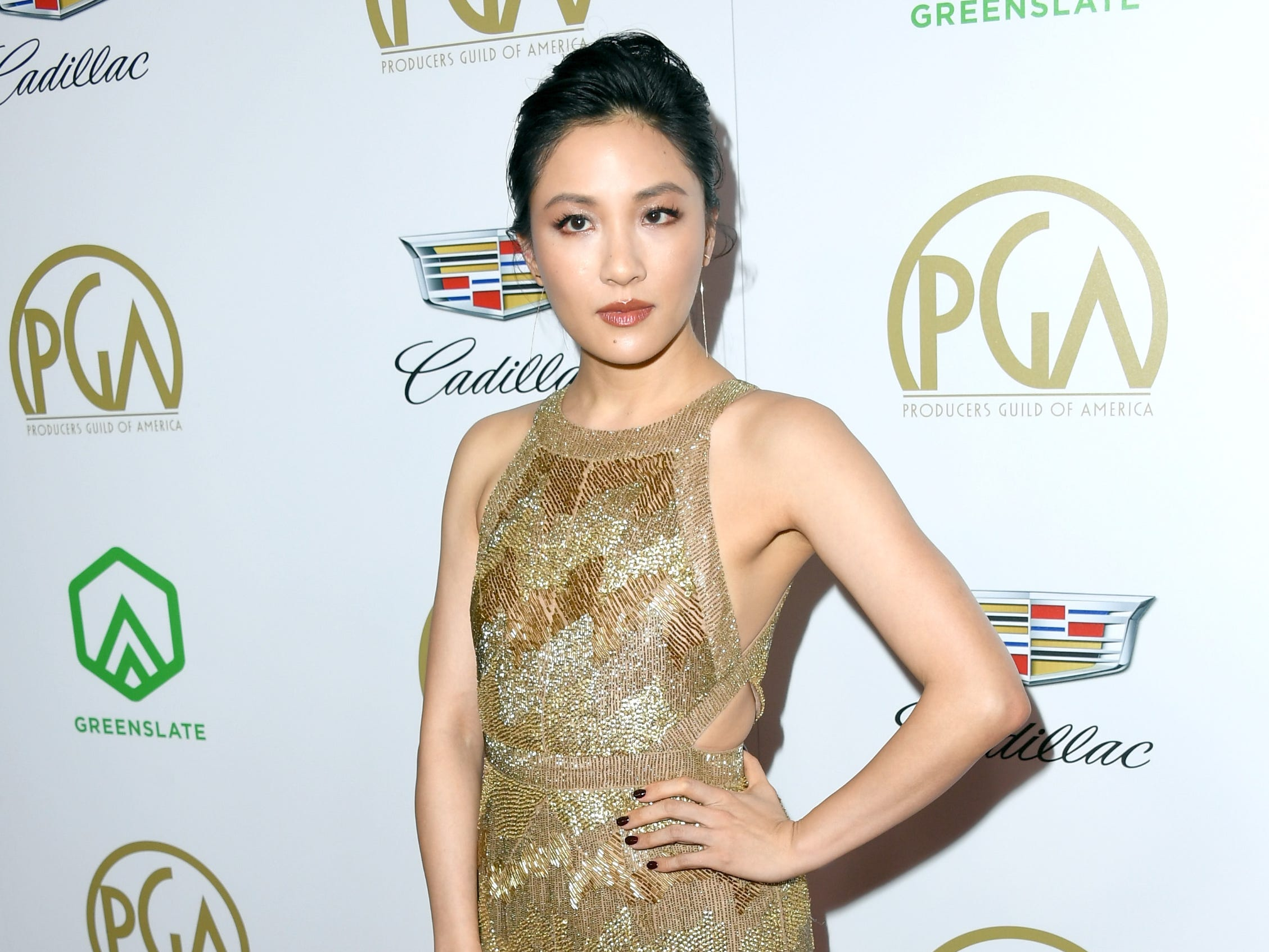BEVERLY HILLS, CA - JANUARY 19:  Constance Wu attends the 30th annual Producers Guild Awards at The Beverly Hilton Hotel on January 19, 2019 in Beverly Hills, California.  (Photo by Jon Kopaloff/FilmMagic) ORG XMIT: 775277375 ORIG FILE ID: 1085408940