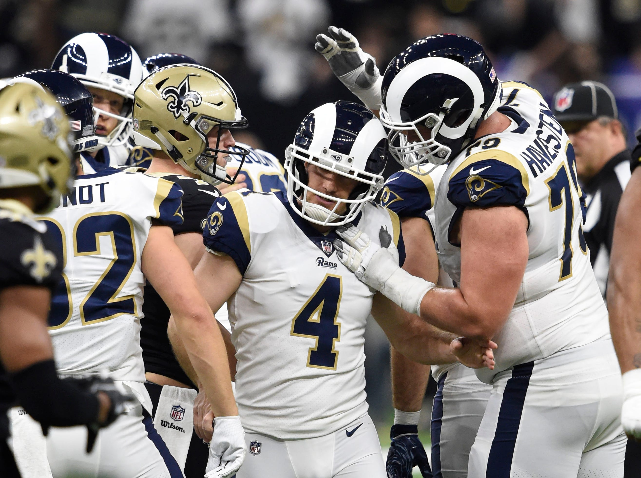 Greg Zuerlein's clutch kicks put the Rams in Super Bowl LIII.