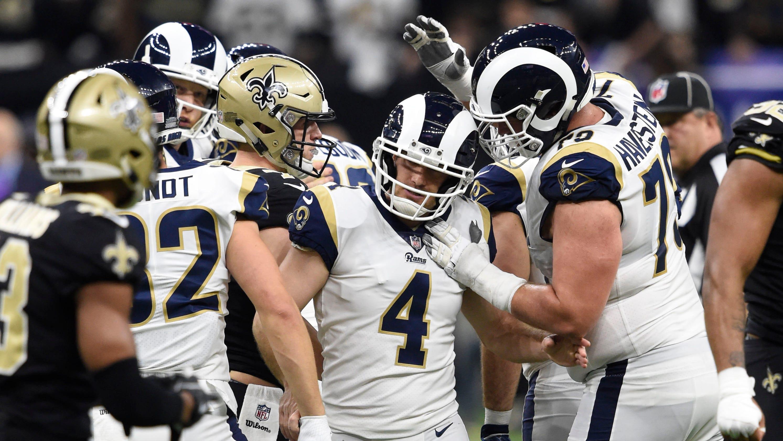 NFC Championship  Rams overcome Saints 502cdf285