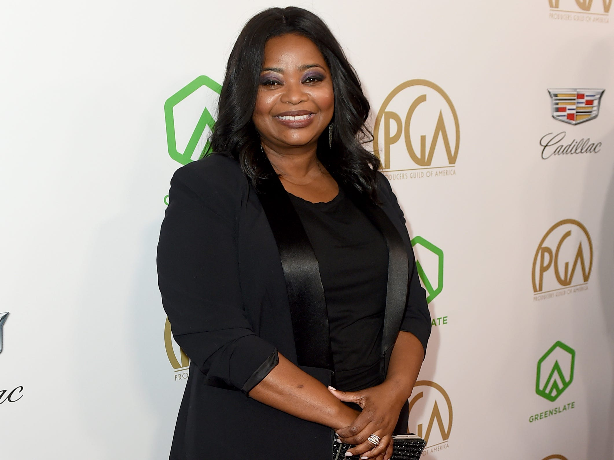 IMAGE DISTRIBUTED FOR PRODUCERS GUILD OF AMERICA - Octavia Spencer arrives at the 30th Producers Guild Awards presented by Cadillac at the Beverly Hilton on Saturday, Jan. 19, 2019, in Beverly Hills, Calif. (Photo by Jordan Strauss/Invision for Producers Guild of America/AP Images) ORG XMIT: CALB118