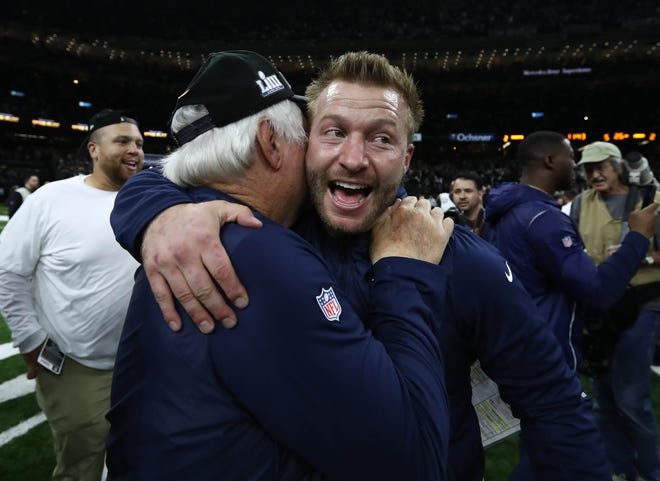 Rams Mcvay Will Return To Atlanta As The Youngest Super Bowl Coach