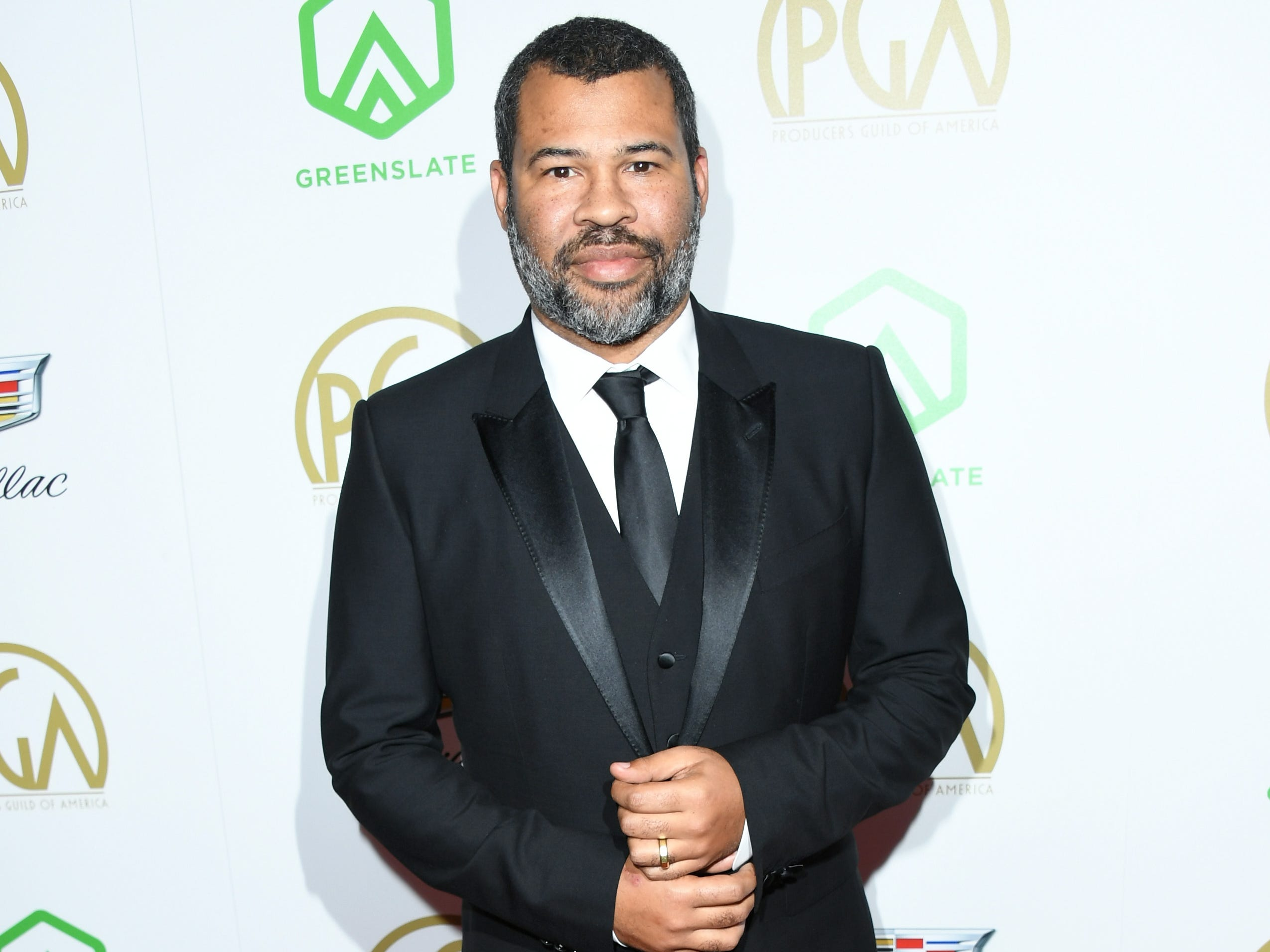 BEVERLY HILLS, CA - JANUARY 19:  Jordan Peele attends the 30th annual Producers Guild Awards at The Beverly Hilton Hotel on January 19, 2019 in Beverly Hills, California.  (Photo by Jon Kopaloff/FilmMagic) ORG XMIT: 775277375 ORIG FILE ID: 1085410208