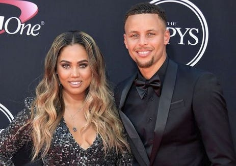 d134ad4ddfc Ayesha and Stephen Curry have been married almost eight years and have two  daughters and one