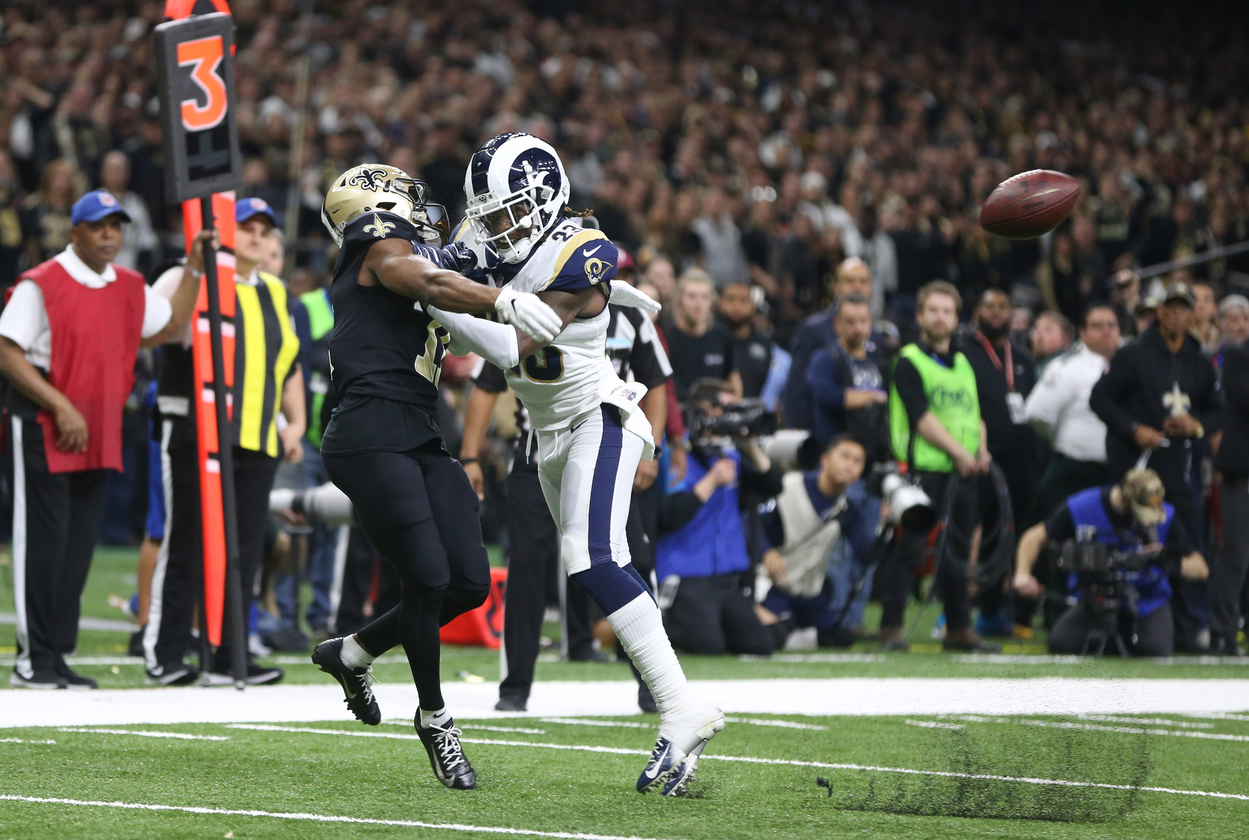 Sean Payton: NFL admits official missed pass interference call on Rams in NFC Championship