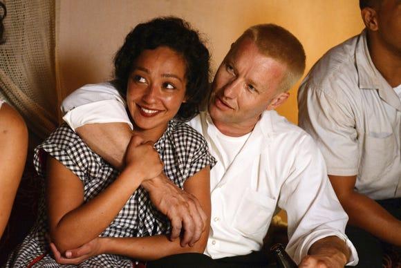 "Ruth Negga (left) and Joel Edgerton star in ""Loving."""