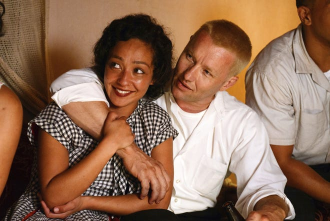 "Ruth Negga (left) and Joel Edgerton star in ""Loving."""