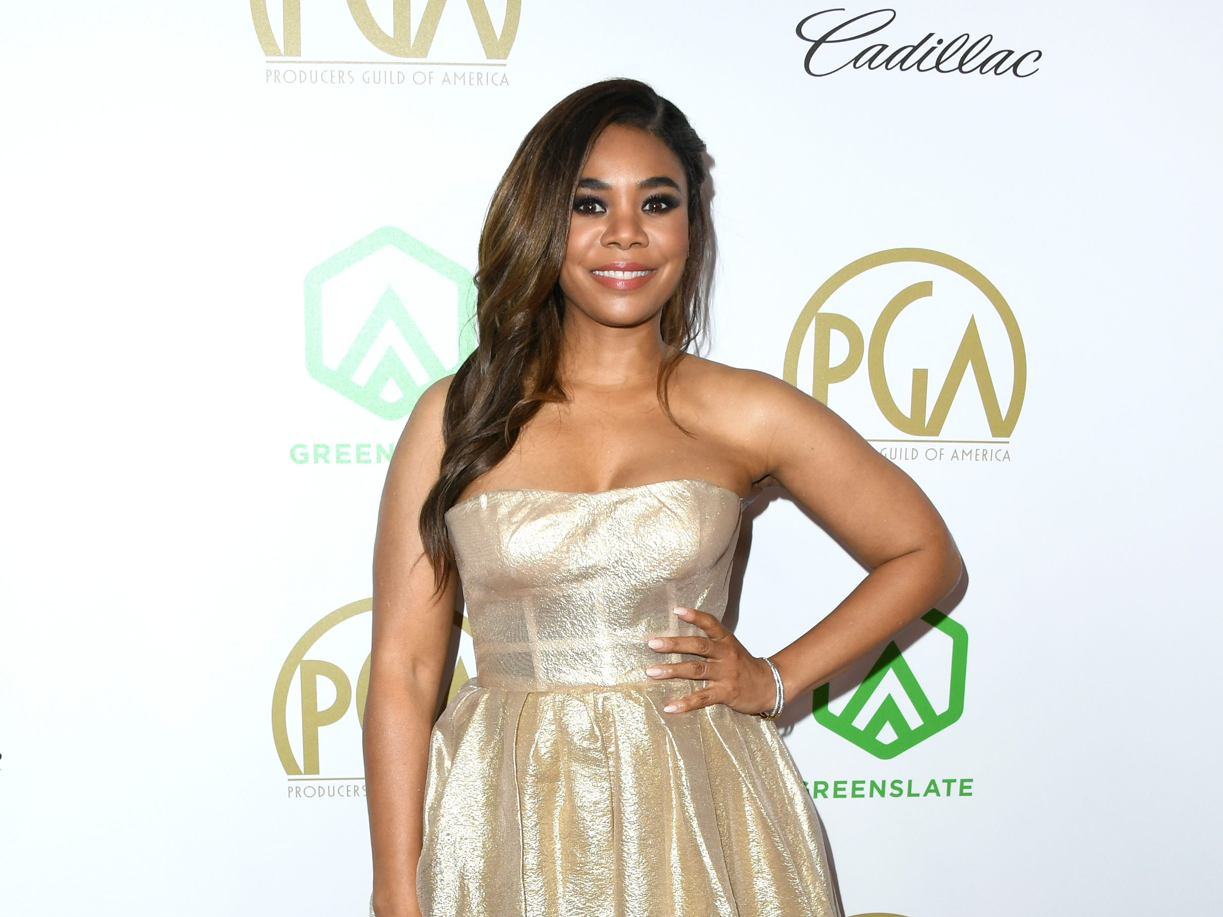 BEVERLY HILLS, CA - JANUARY 19:  Regina Hall attends the 30th annual Producers Guild Awards at The Beverly Hilton Hotel on January 19, 2019 in Beverly Hills, California.  (Photo by Jon Kopaloff/FilmMagic) ORG XMIT: 775277375 ORIG FILE ID: 1085411572