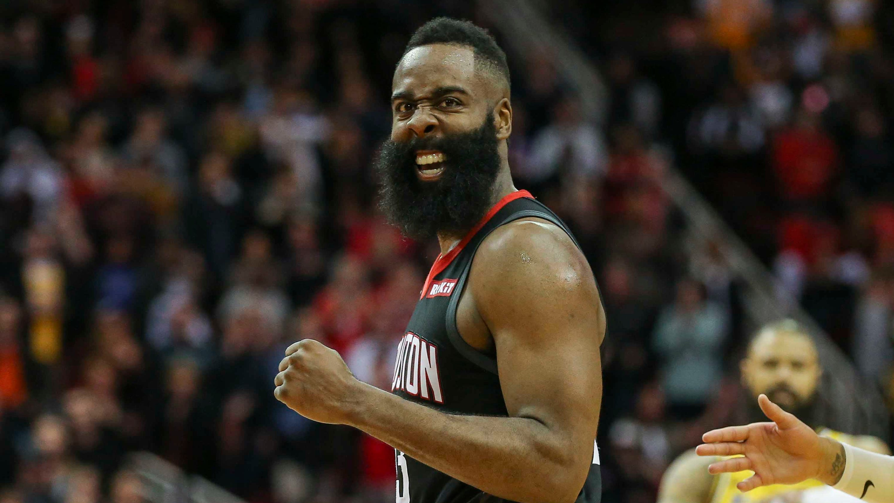 c4d26289fde9 Harden drops 48 to rally Rockets past Lakers in OT thriller
