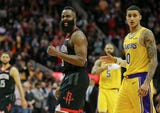 James Harden is running roughshod through the NBA, putting up jaw dropping numbers on a nightly basis, but Lorenzo Reyes is here to spark the conversation on whether or not he's the best pure scorer we've ever seen.