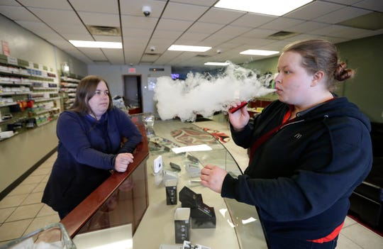 Local vapor shop owners came out to City Hall at the Board of Health meeting on Wednesday morning to discuss concerns over a proposed vaping ban resolution.