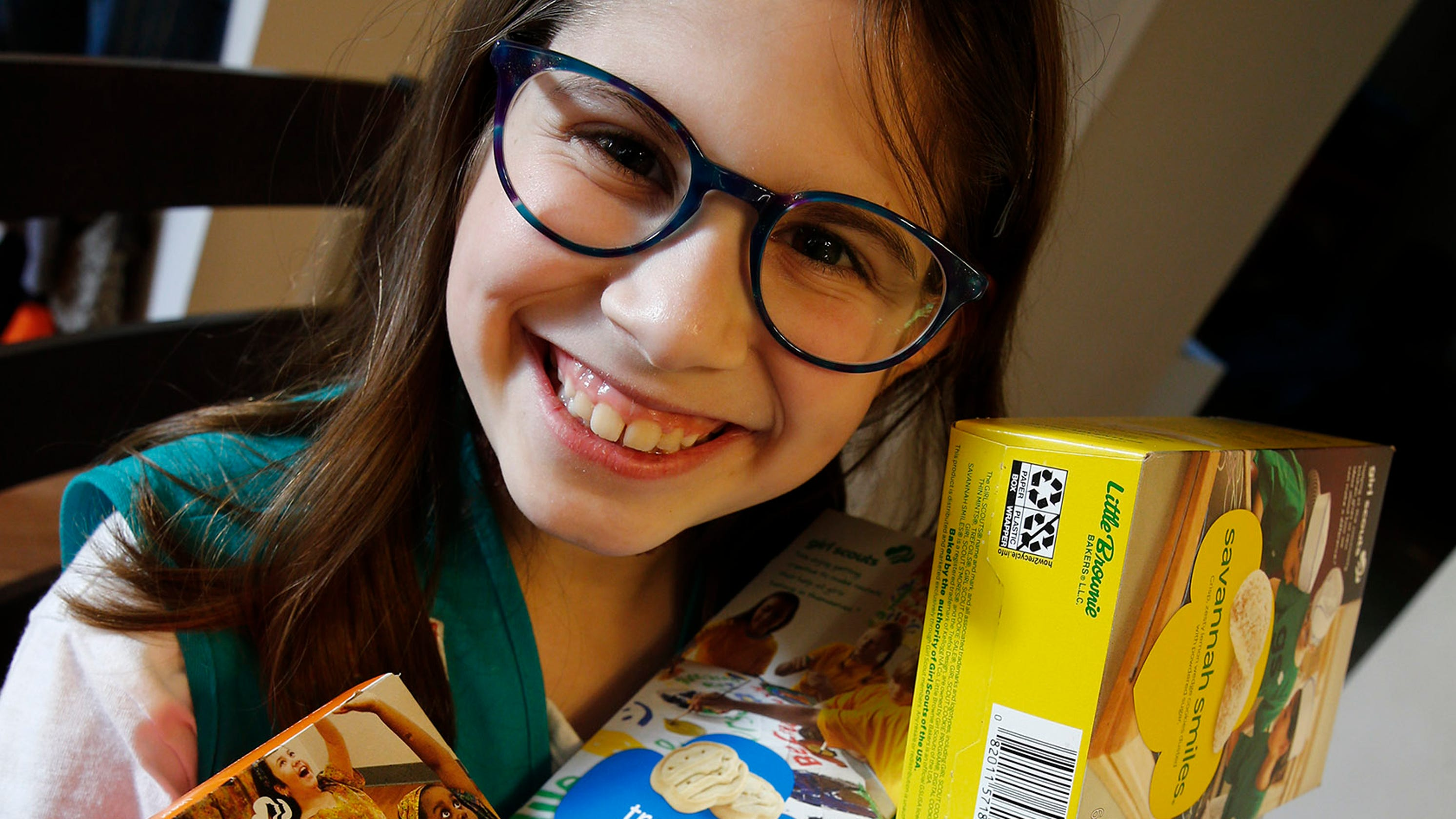 We Live In An Age Of Universal Investigation And Of: Holmdel Girl Scout, Age 9, Sells How Many Boxes Of Cookies?