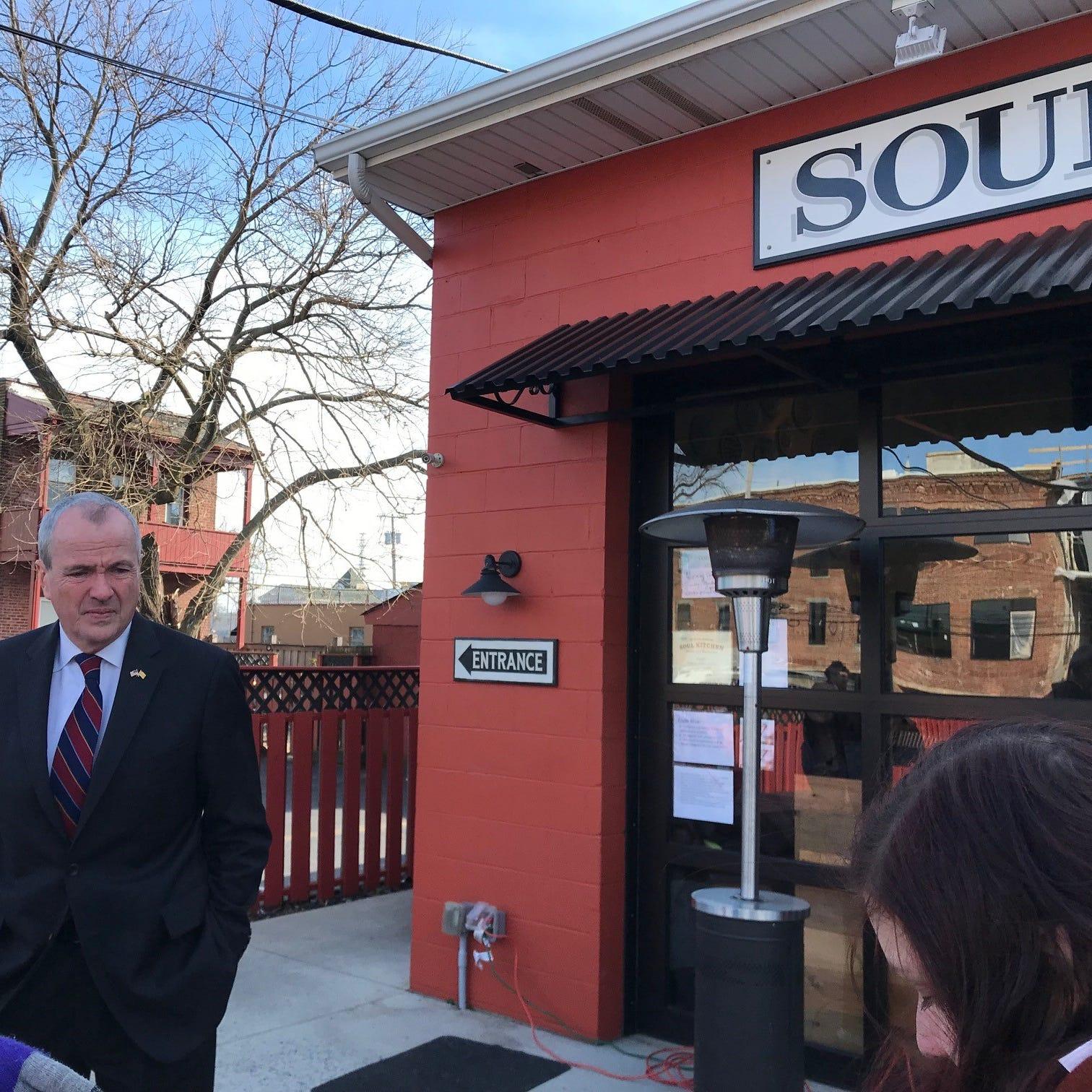Bon Jovi Soul Kitchen: Gov. Phil Murphy visits furloughed federal workers lunch