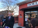The Bon Jovi Soul Kitchen in Red Bank served free lunches to 71 furloughed federal workers on Monday, Jan. 21.