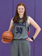 Roscoe freshman Shauna McCambridge