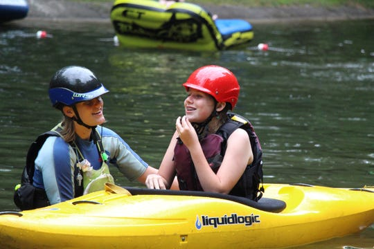 Rockbrook, in Brevard, is a traditional residential summer camp for girls.