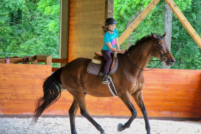 Rockbrook Camp, in Brevard, is a traditional summer camp for girls starting at age 6.