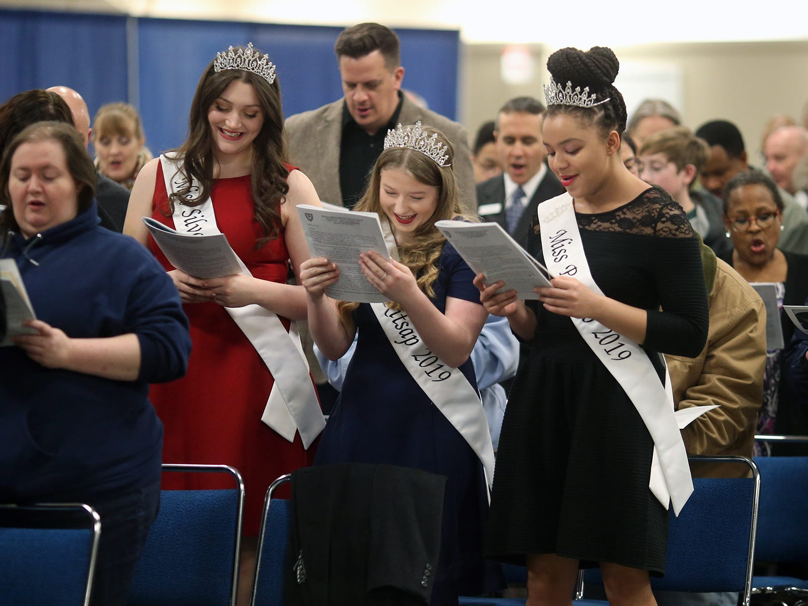 The 25th annual Reverend Dr. Martin Luther King, Jr. celebration was held at Presidents' Hall at the Kitsap County Fairgrounds on Monday, January, 21 , 2019.