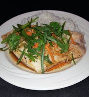 Guang Dong Style Snapper, snapper steamed with garlic, ginger, cilantro, soy and sesame oil, will be served Jan. 31 at the Florida Tech International Dinner at Panther Dining Hall.