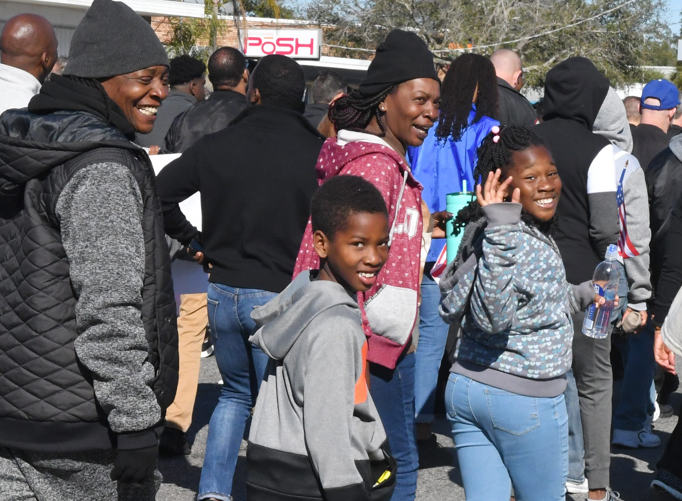 The 33rd year for the Melbourne, Fl. MLK Peace March, hosted by the Martin Luther King, Jr. Coalition, was held Monday morning. Hundreds of marchers began at the Dr. Martin Luther King, Jr. Public Library, and walked the three miles to the Melbourne Auditorium.