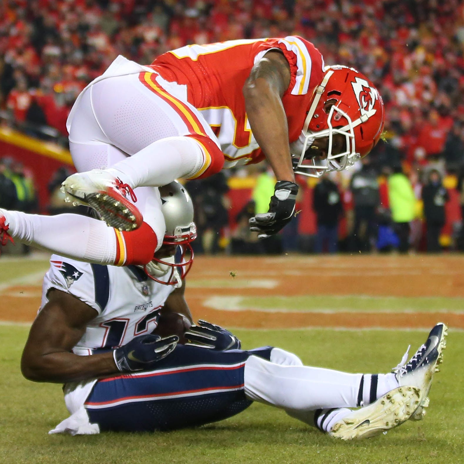 NFL Playoffs: New England Patriots beat Kansas City Chiefs in AFC title game