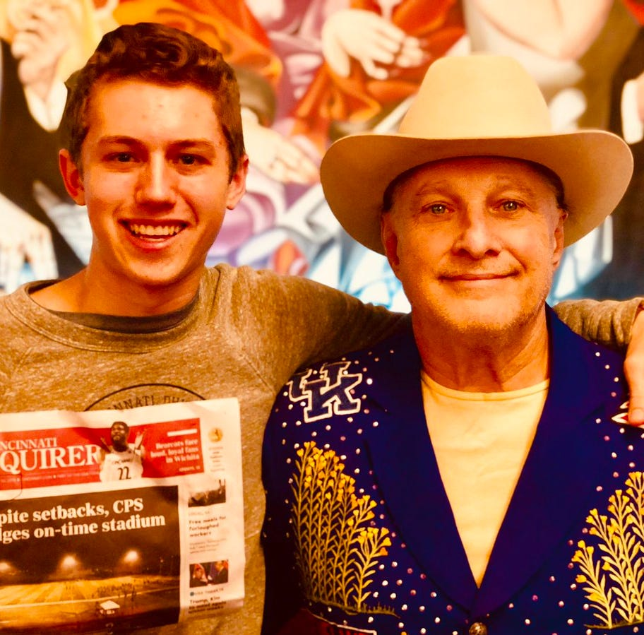 Jeff Ruby debunks rumors, offers dinner with CovCath students, Nathan Phillips