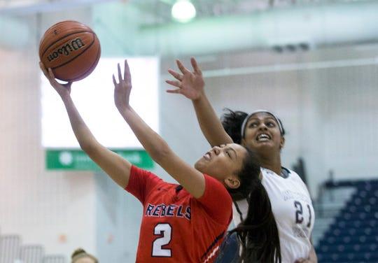 Divya Seenivasan (21) of Rutgers Prep