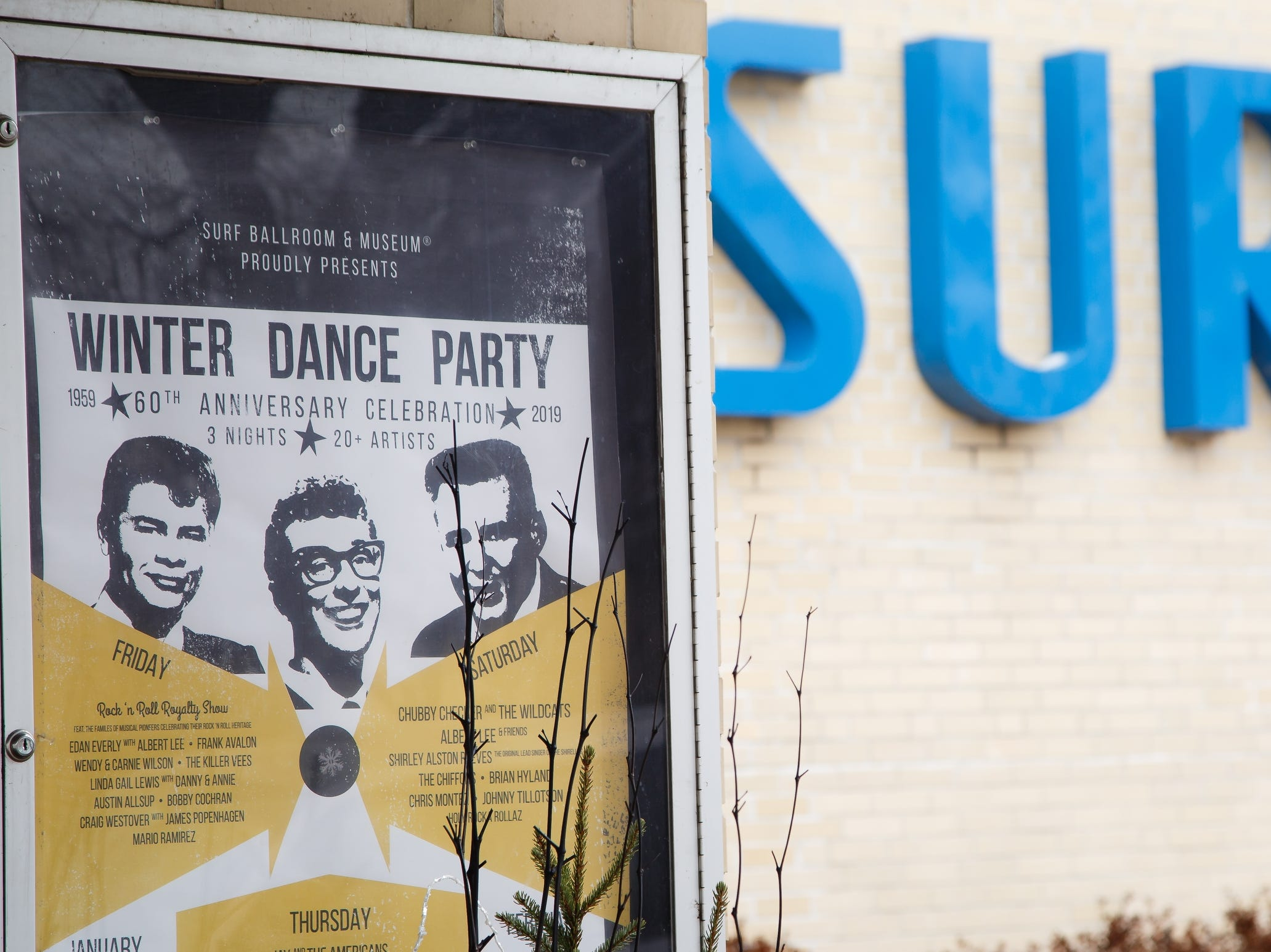 The Surf Ballroom prepares for the 60th anniversary of the Winter Dance Party on Tuesday, Jan. 15, 2019, in Clear Lake.