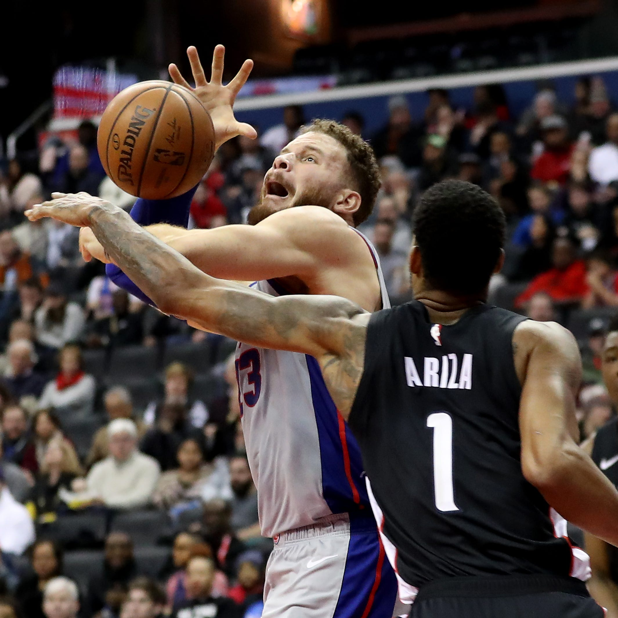 Pistons' hole at point guard rears again in 101-87 loss at Wizards