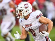 Massachusetts receiver Andy Isabella caught 102 passes for 1,698 yards and 13 touchdowns last season.