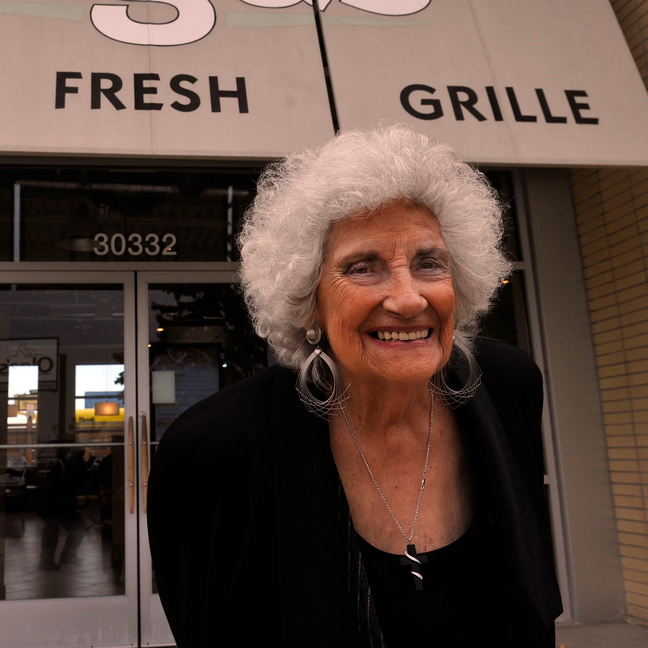 Olga Loizon, Olga's Kitchen founder, dies at age 92