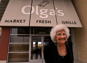 Olga Loizon, founder of Olga's restaurant, died Monday, the company that bought Olga's Kitchen reported.